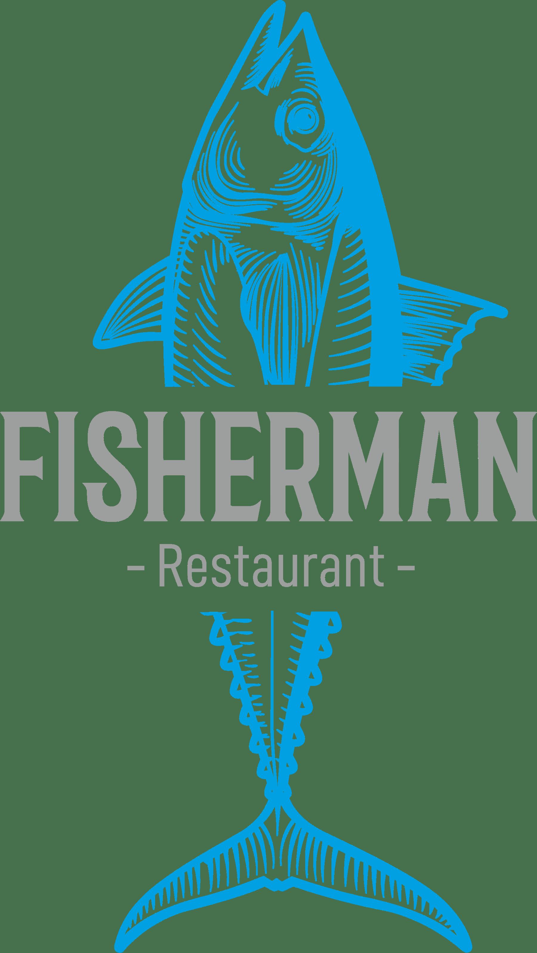 Logo restauracji rybnej Fisherman Sopot